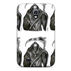 Galaxy S4 Yoh18929naAR Unique Design Fashion Grim Reaper Skin Scratch Resistant Hard Phone Covers -no1cases