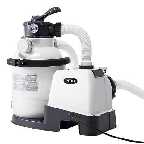 "Intex 26644 - Depuradora de arena Krystal Clear 4.500 litros/hora 10"" ..."
