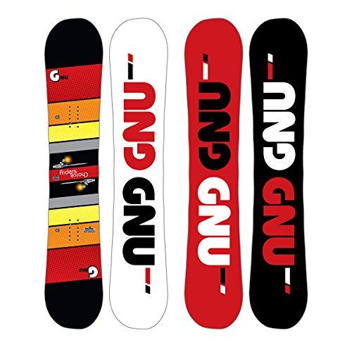 Gnu Riders Choice Asym Snowboard Mens Sz 154.5cm