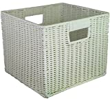 Cute Woven Plastic Small Storage Cube 11