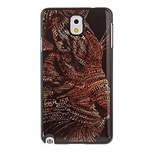Buy Leopard Painting Pattern Aluminium Hard Back Case Cover for Samsung Galaxy Note3 N9000