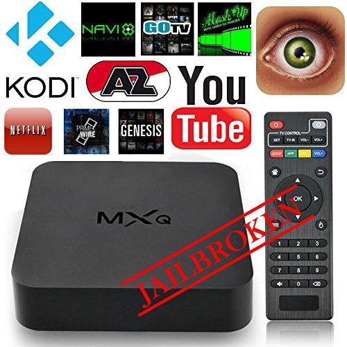 Android Tv Box CHSLING Kodi 15.2 XBMC Fully Loaded 1080P Amlogic S805 Quad Core Smart Media Player RAM 1GB ROM 8GB...