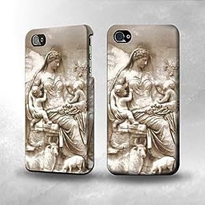 Apple iPhone 5 / 5S Case - The Best 3D Full Wrap iPhone Case - Ancient Roman Sculpture