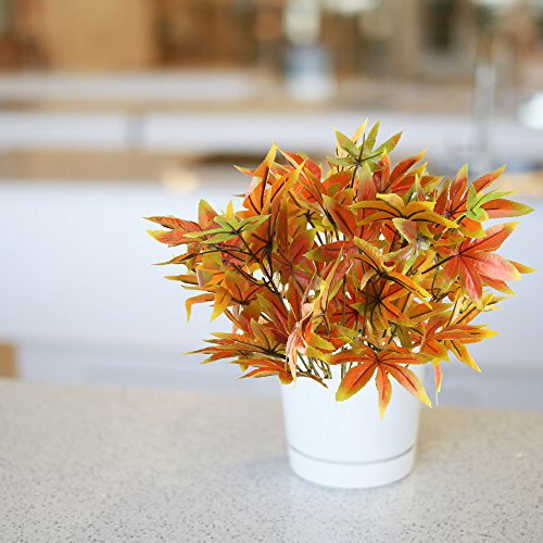 Nahuaa-2PCS-Artificial-Shrubs-Fake-Fall-Bushes-Large-Silk-Autumn-Maple-Leaves-Bundles-Indoor-Outdoor-Table-Centerpieces-Arrangements-Home-Kitchen-Office-Hanging-Baskets-Spring-Decorations