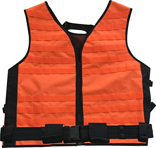 Hellfire Orange Big Game Vest by Tactical Hunting Systems