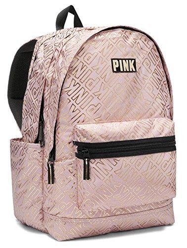 New Victoria's Secret Pink Padded Laptop Sleeve Backpack School Book Bag Tote