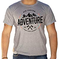 Camiseta Masculina Eco Canyon Enjoy Every Moment Cinza