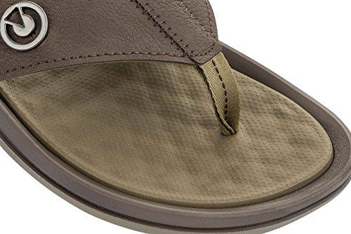 Thong 7 7 Taupe Cartago Slip On Textile Size Men's Flop Taupe Flip Santorini Ipanema tfgHxg