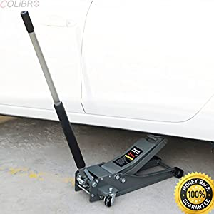 COLIBROX--3 Ton Heavy Duty Steel Ultra Low Profile Floor Jack Rapid Pump Car Pump Lowrider. pittsburgh 3 ton floor jack harbor freight.pittsburgh 3 ton aluminum floor jack.pittsburgh floor jack handl.