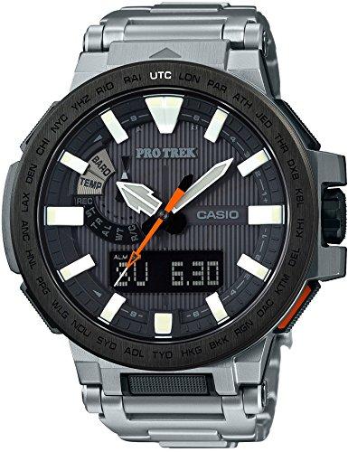 CASIO Men's Watches PROTREK MANASLU World six stations Solar radio PRX-8000T-7AJF