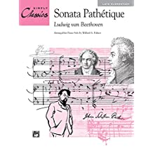 Sonata Pathytique (Theme from 2nd Movement): Sheet