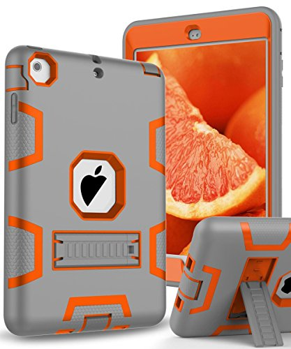 TOPSKY Kickstand Shock Absorption Resistant Grey Orange product image