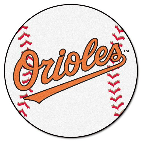 FANMATS MLB Baltimore Orioles Nylon Face Baseball Rug (Orioles Mlb Baseball Baltimore Rug)