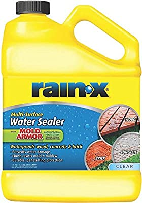 WM BARR CAULK & SEALANTS 1030329 Rain-X Multi-Surface Water Sealer, Clear, 1 gallon
