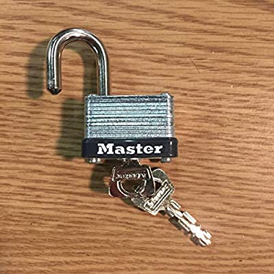 Pack of Five (5) Master Lock Number 22KD Commercial Padlock Keyed Different: Home Improvement