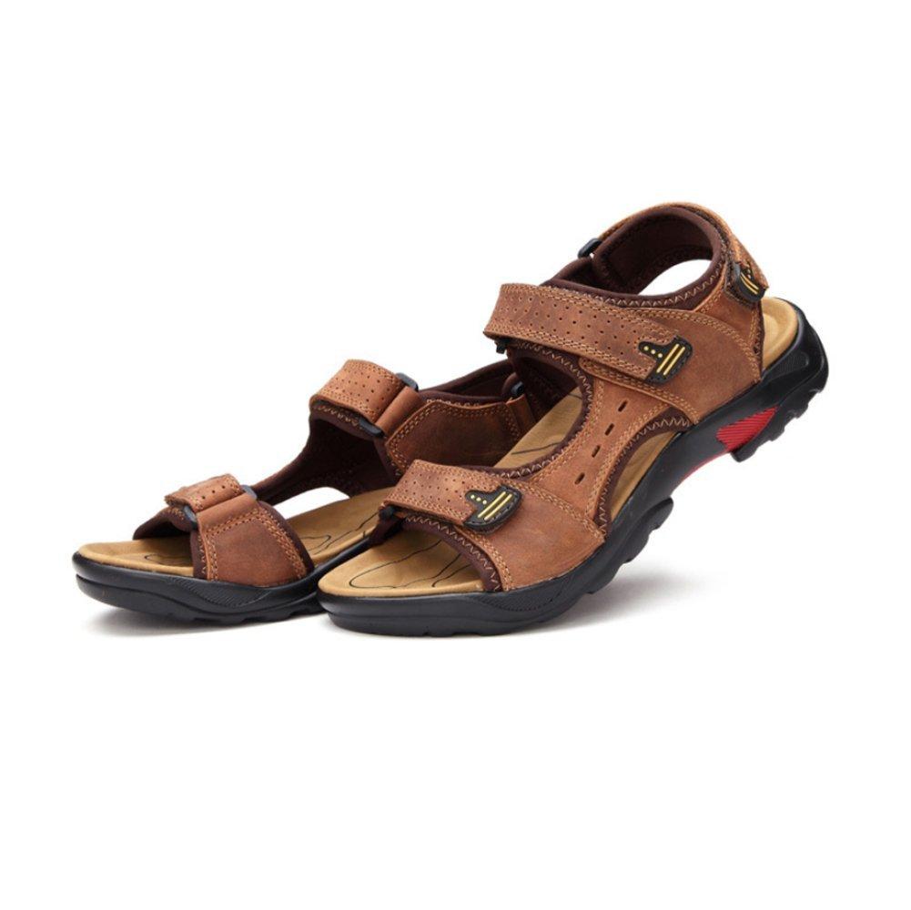 Sandalias para Hombres Breathable Beach Shoes Zapatos para Hombres 38 EU|Lightbrown