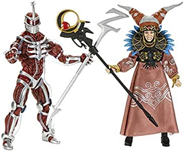 PR Power Rangers Lord Zedd and Rita Repulsa Lightning Collection Action Figure 2 Pack