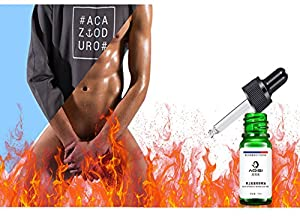 MAN energy Big Penis Oil Penis Enlargement Essential Oil Pills, Increase Sex Delay Men's Penis Care 10 ml X 3 PCS