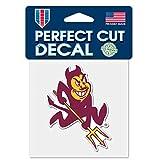 WinCraft Arizona State Sun Devils Devil C4 4'x4' Perfect Cut Die Cut Decal