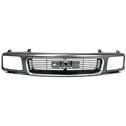 75bd3a747e776 Amazon.com: Grille for GMC Jimmy 95-97 Sonoma 94-97 Silver Shell W ...