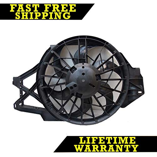 (RADIATOR CONDENSER COOLING FAN FOR FORD FITS MUSTANG 3.8 V6 6CYL)
