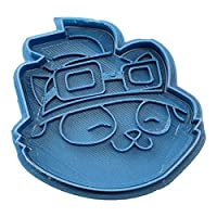 Cuticuter Gamer LOL Teemo Cookie Cutter, Blue, 8 x 7 x 1.5 cm