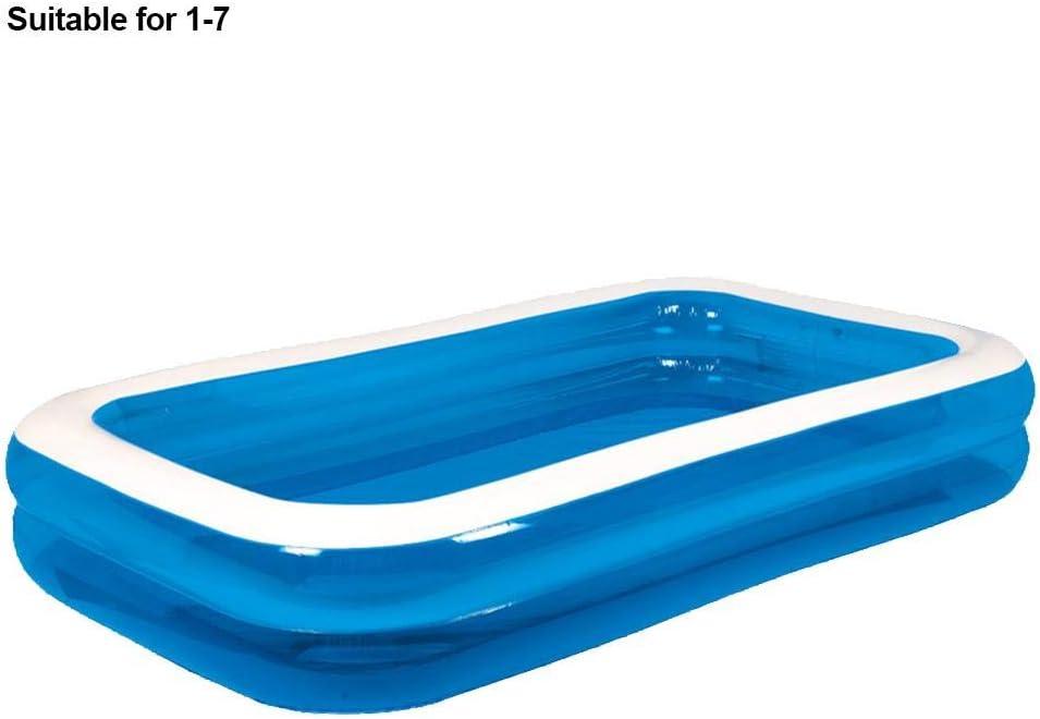 Piscina hinchable de centros de natación de más de 3 años. El tamaño máximo de la piscina de PVC es 181 141 46 cm. 305 cm.