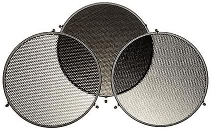 3 Pieces Medium and Fine Grids for L40 Reflector Broncolor Honeycomb Coarse