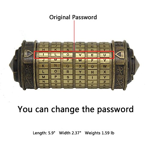 YOFIT Da Vinci Code Mini Cryptex Valentine's Day Interesting Creative Romantic Birthday Gifts For Her by YOFIT (Image #1)