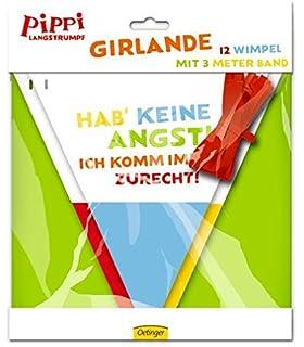 Girlande * PIPPI LANGSTRUMPF   DER FILM * Für Party Und Kindergeburtstag //  Geburtstag Party