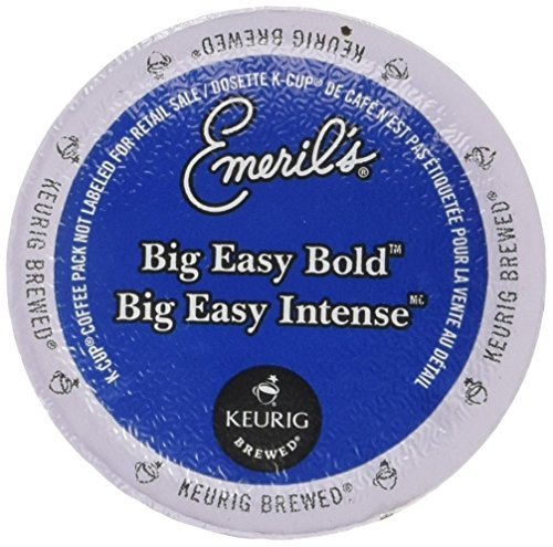 Emeril's Big Easy Bold Single Serve Coffee K-Cups, 48-Count For Brewers (Emerils Roasted Coffee)