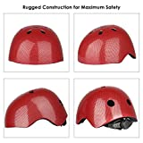 SIX-FOXES-Cycle-Helmet-Kids-Boys-Girls-Cycling-Helmet-Bicycle-Helmet-for-Age-3-8-Year-48-54-cm