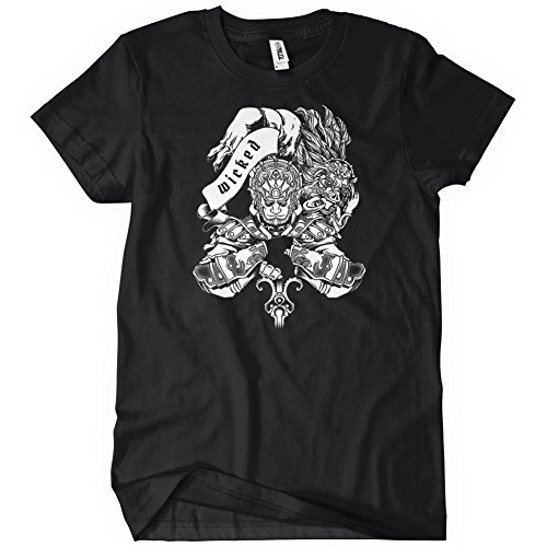 Ganondorf Wicked T-Shirt Funny Adult Womens Cotton Tee Sizes S-2XL