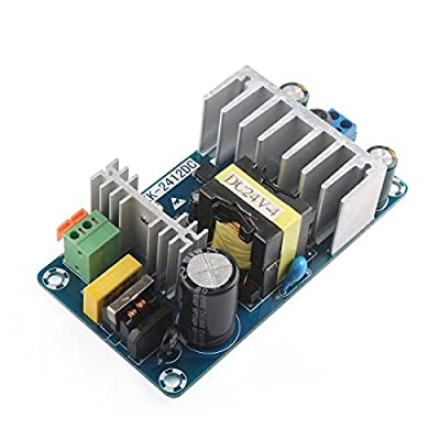 DROK AC to DC 100W Power Converter Module DC 12V 8A Switching Power Supply Board AC 85-265V Variable Input with Indicator