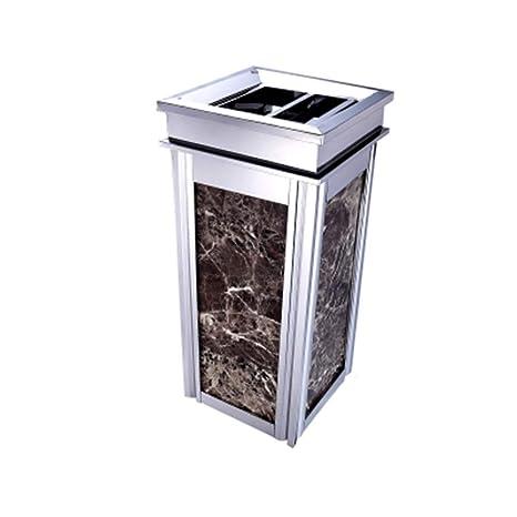Papelera de reciclaje de basura Bote de basura vertical de ...