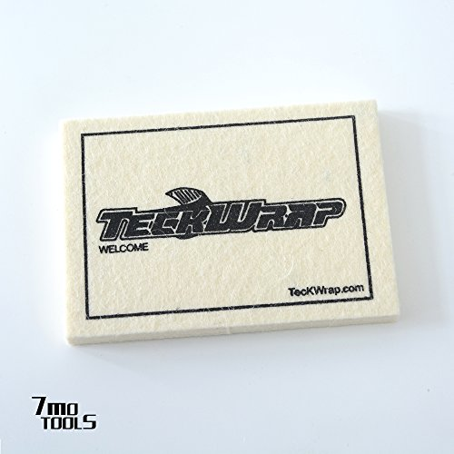 TECKWRAP Wool Squeegee 3.94x2.76 Inch for Car Vinyl Film Wrapping 1 pcs (Felt Squeegee)