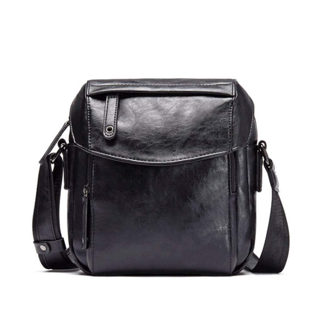 Color : Black, Size : S RXF Messenger Bag for Men Youth Bag Casual Backpack Student