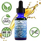 Peppermint 2500mg Hemp Oil for Pain Relief, Stress Support, Anti Anxiety, Sleep Supplements. Herbal Drops Rich in MCT Fatty Acids Natural Anti Inflammatory 1 FL oz. (30 ml) (Lemon or Peppermint)