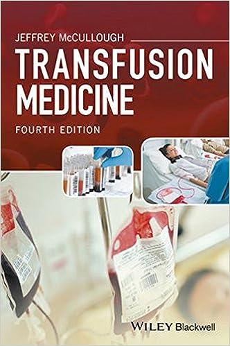 Book Transfusion Medicine
