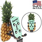 String Swing Ukulele Adhesive Wall Mount Pineapple Stand for Mandolin and Ukele- Concert Pineapple Soprano Tenor and Baritone Compatible - Case Alternative Kit for Home or Studio - Pineapple CC61UK-P