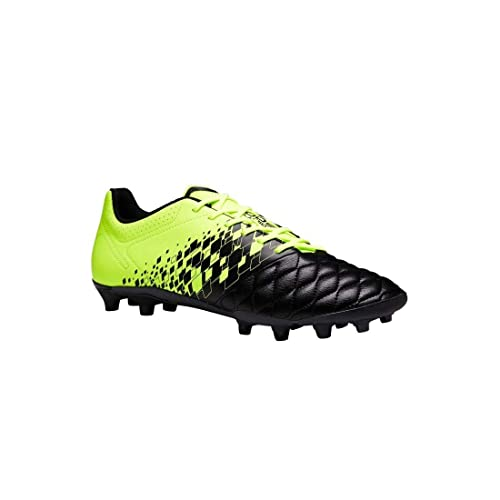 42bd81623ac Kipsta Agility 500 FG Adult Dry Pitches Football Boots - Black/Yellow (12,