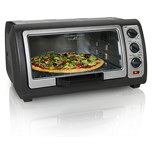Discover Bargain Hamilton Beach (31126) Toaster Oven, Convection Oven, Easy Reach