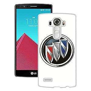 For LG G4,Buick logo White Protective Case For LG G4