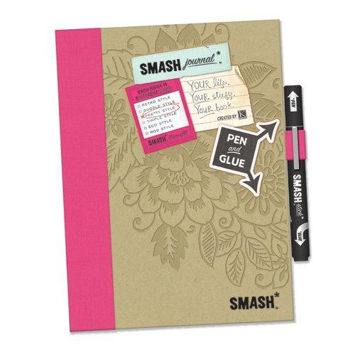 K&Company SMASH Folio: Pretty Pink (Smash Book Supplies)