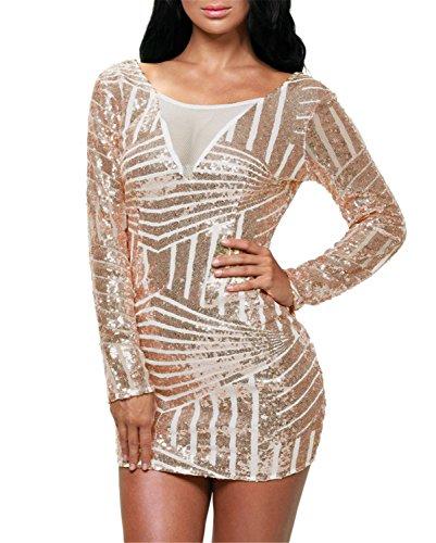 j adore gold sequin dress - 5