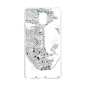 Happy Nine inch nails man face Cell Phone Case for Samsung Galaxy Note4