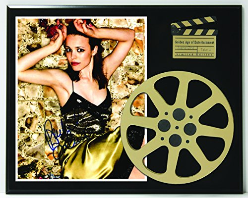 Rachels Reel - Rachel McAdams Limited Edition Reproduction Autographed Movie Reel Display