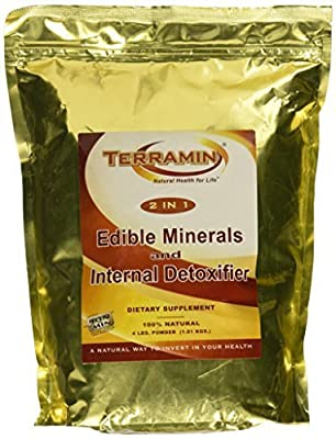 Terramin Montmorillonite Clay Powder 4 Lbs. (1.81 Kgs.) by California Earth Minerals