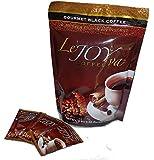 Healthy Coffee - Great Tasting Instant Black Coffee with 100% Organic Ganoderma, Goji, Mangosteen & Yarcha Gumba - LeJoyVa - Joy to Live