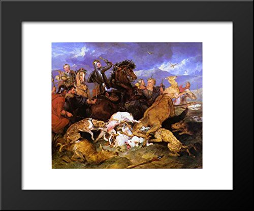The Hunting of Chevy Chase 20x24 Framed Art Print by Edwin Henry - Chevy Framed